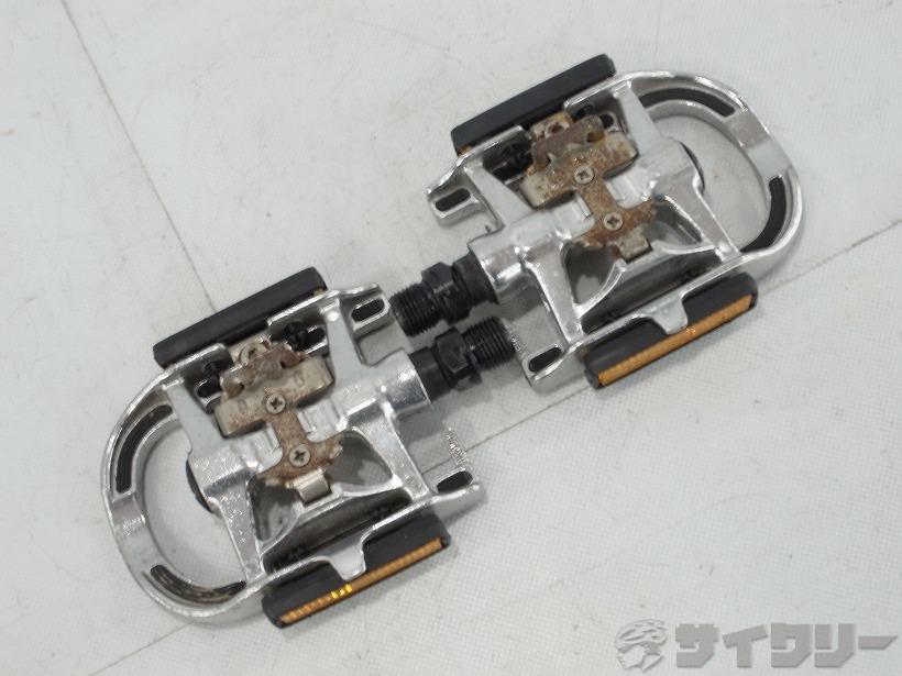 片面ビンディングペダル L326 SPD サビ
