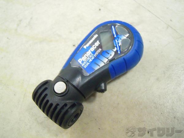 空気圧計 デュアルヘッドデジタルゲージ 米式/仏式バルブ対応