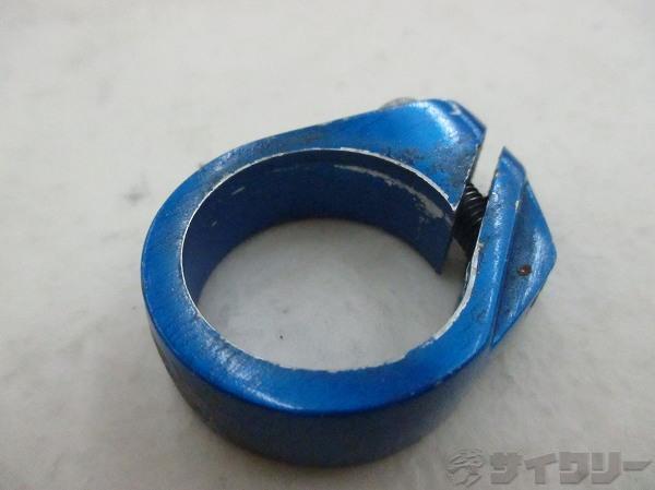 シートクランプ 30mm ブルー