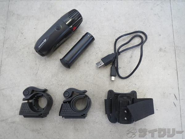フロントライト X-POWER300 USB充電式 ※動作確認済み