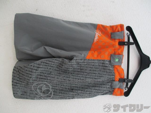 ショートパンツ N-FLUENCE Mサイズ グレー/オレンジ