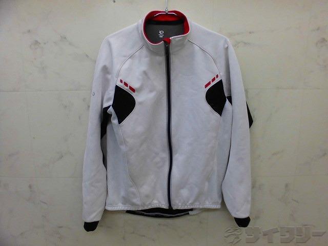 ウィンドブレイクジャケット BLサイズ ホワイト/ブラック