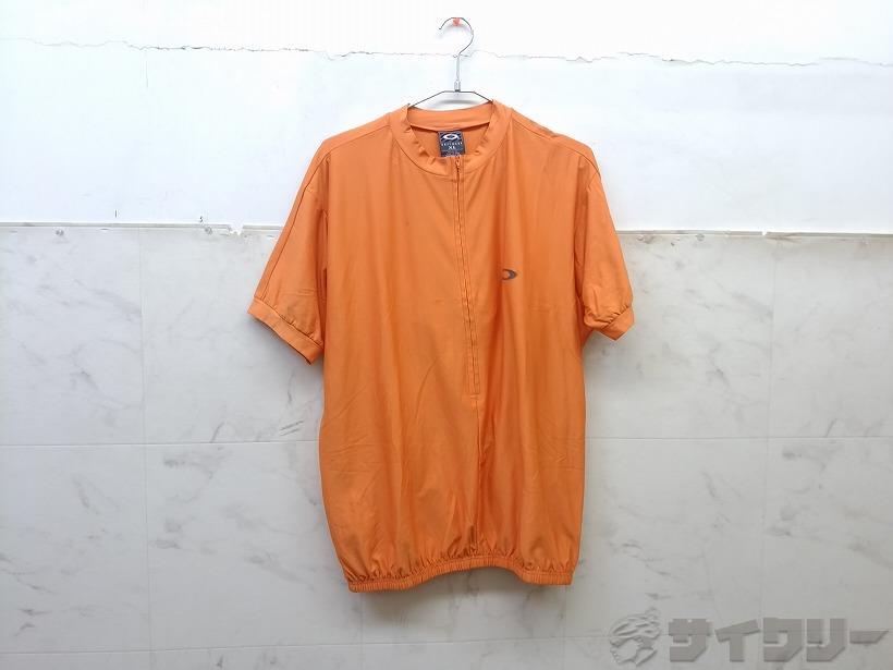 半袖ジャージ XL オレンジ
