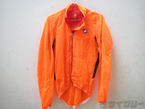 ウィンドブレーカー Lサイズ オレンジ