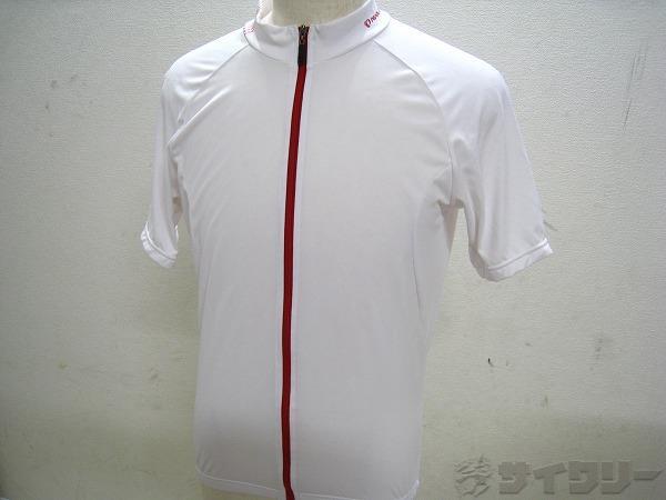 半袖ジャージ XLサイズ ホワイト