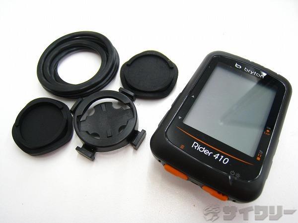 GPSサイクルコンピューター Rider410 センサー無し