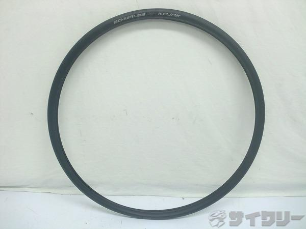 クリンチャータイヤ KOJAK 700x28c ブラック
