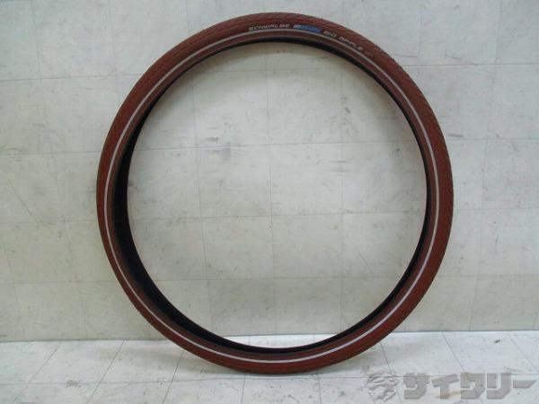 タイヤ BIG APPLE 50-622(28×2.00) クリンチャー ブラウン
