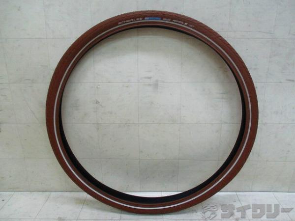 タイヤ BIG APPLE 50-622(28×2.00) ブラウン クリンチャー