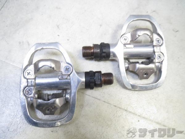 ビンディングペダル PD-A520 SPD シルバー