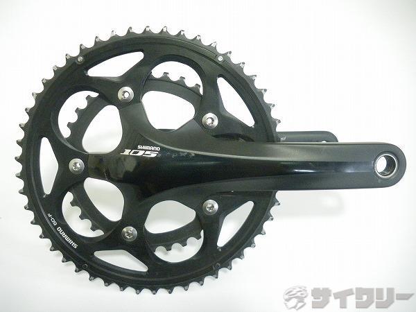 クランク FC-5750 105 ブラック 172.5mm 50/34T PCD:110mm