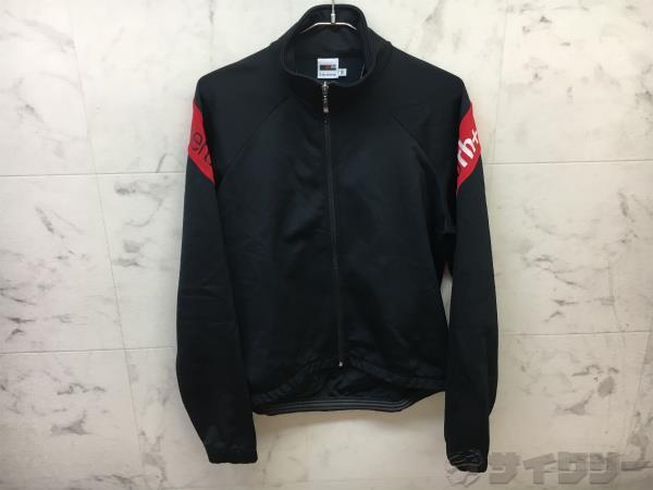 長袖ジャケット Mサイズ ブラック/レッド
