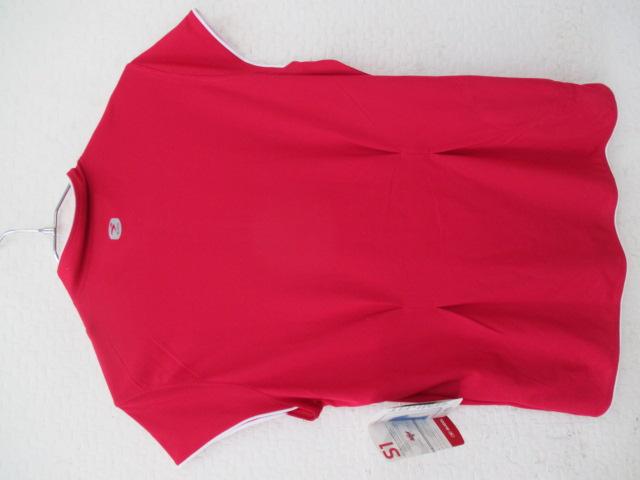 ハーフジップノースリーブジャージ WOMENS FEMMES Lサイズ ピンク
