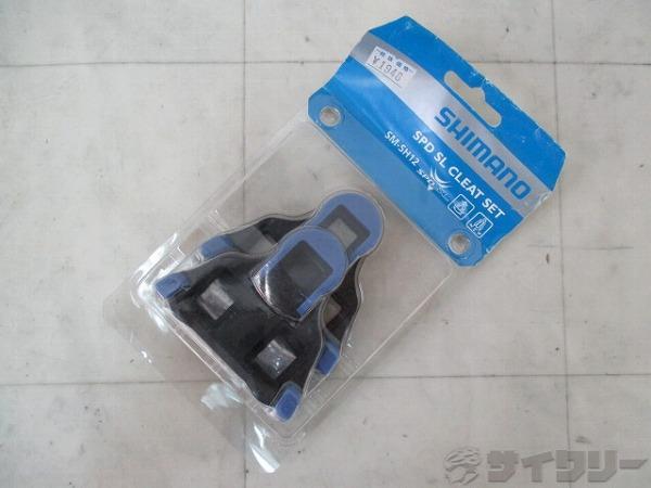 クリート SM-SH12 Y40B98140 SPD-SL ブルー/ブラック