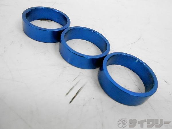 コラムスペーサーセット 10mm/OS アルミ ブルー