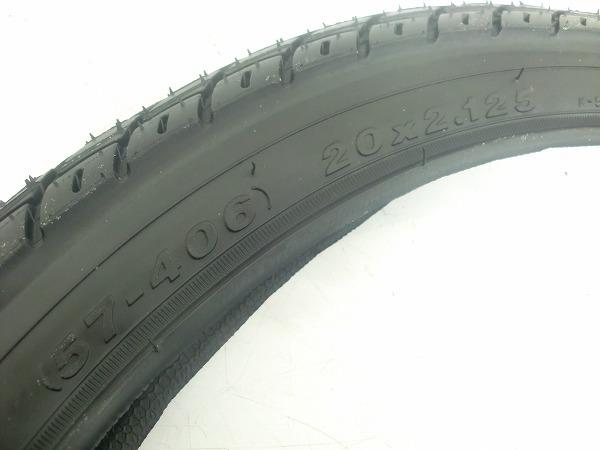 クリンチャータイヤ 20x2.125 ブラック