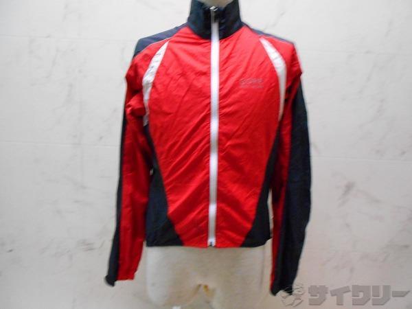 ウィンドブレイクジャケット WINDSTOPPER サイズ:ASAI M レッド
