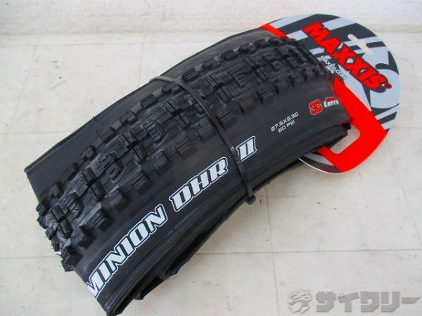 タイヤ MINION DHF2 EXO TR 27.5×2.30 TUBELESS READY
