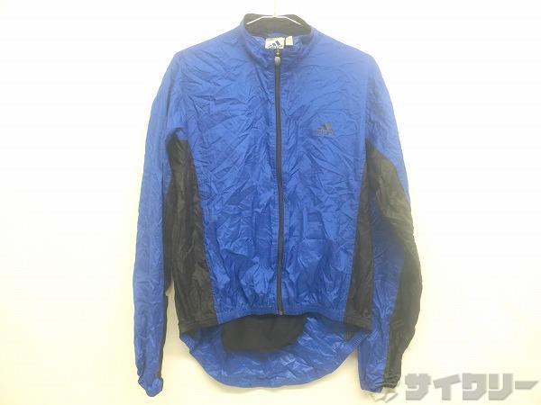 長袖フルジップジャケット Oサイズ ブルー
