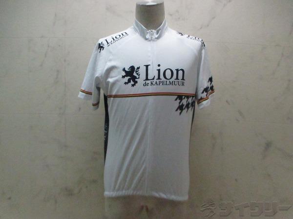 半袖フルジップジャージ LION DE KAPELMUUR サイズ:XL