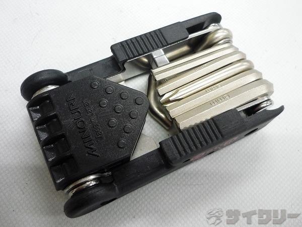 携帯工具 MULTI TOOL with PEDAL STAND