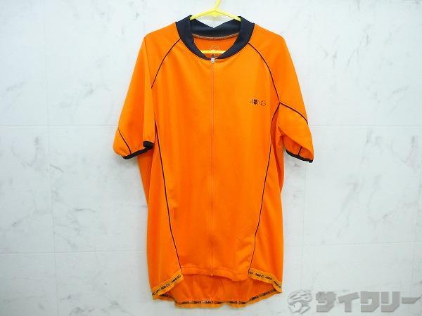 半袖ジャージ オレンジ Lサイズ