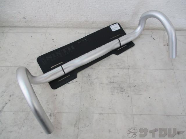 ドロップハンドル SETH 約435mm(実測)/31.8mm(表記) シルバー
