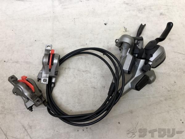 油圧ディスクブレーキ&シフターセット ST/BR-M585 650/1200mm