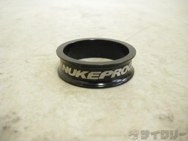 コラムスペーサー タービンスペーサー ブラック OSコラム用 高さ:10mm