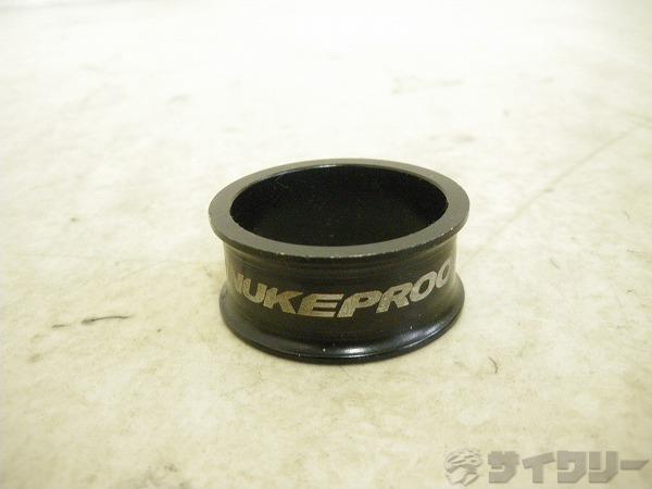 コラムスペーサー タービンスペーサー ブラック OSコラム用 高さ:15mm