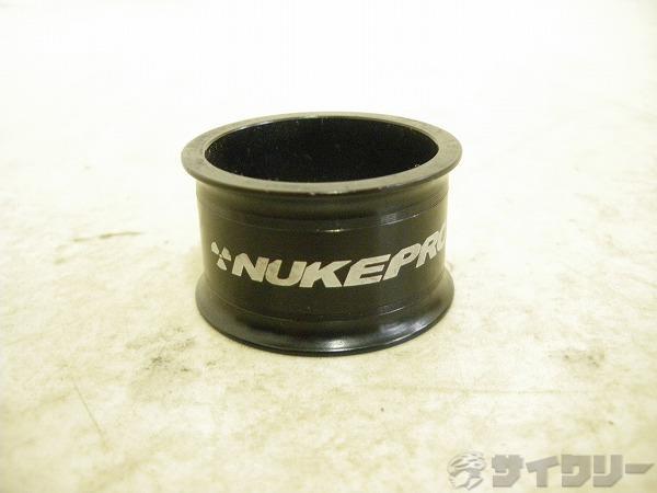 コラムスペーサー タービンスペーサー ブラック OSコラム用 高さ:20mm