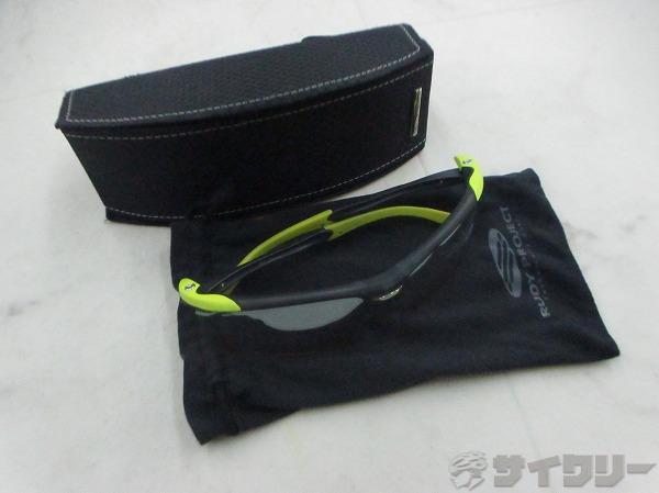 劣化 アイウェア PRO FLOW 蛍光グリーン/ブラック