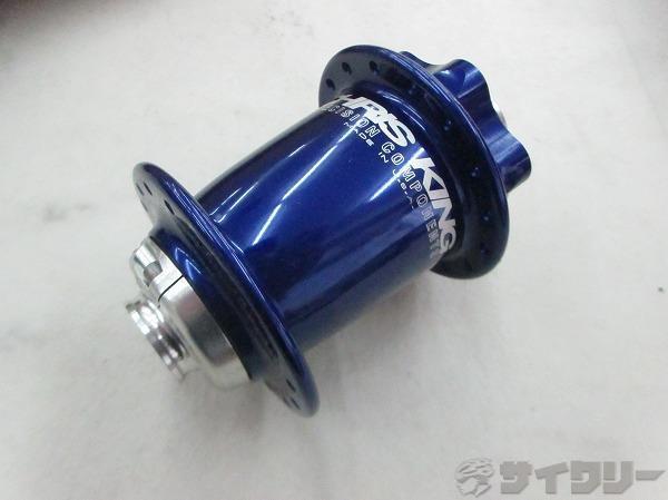 フロントハブ ISO DISC 32H ブルー アクスル15mm/エンド幅100mm