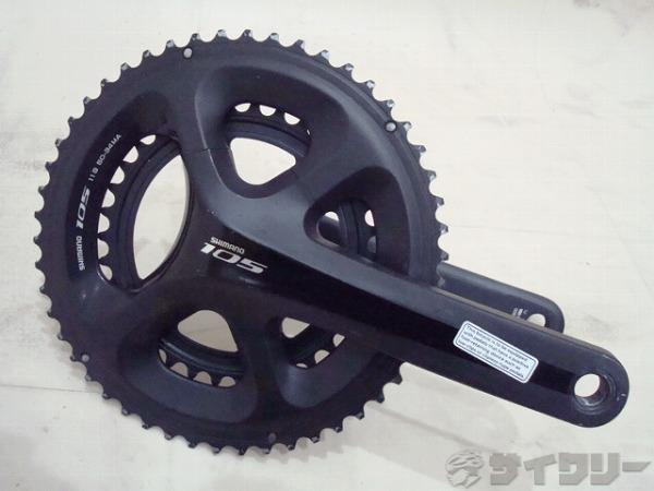 クランクセット FC-5800 105 172.5mm 50-34T ブラック