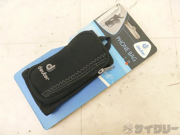 携帯ケース PHONE BAG フォーンバッグII ブラック