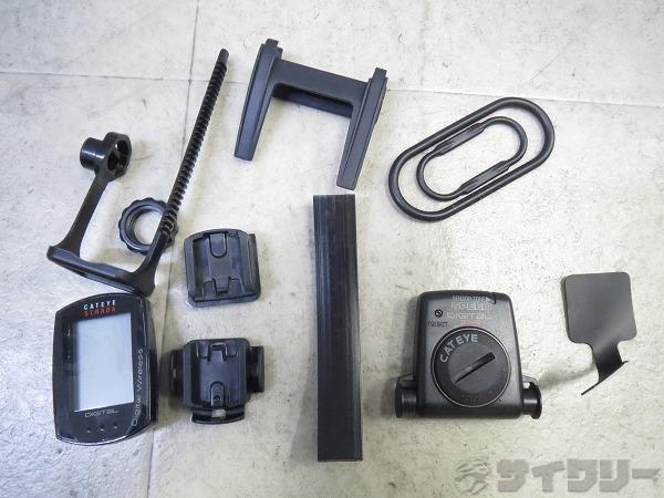 サイクルコンピュータ CC-RD420DW 電池欠品/動作未確認