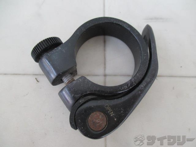 シートクランプ 34mm(表記)/約33mm(実測) ブラック