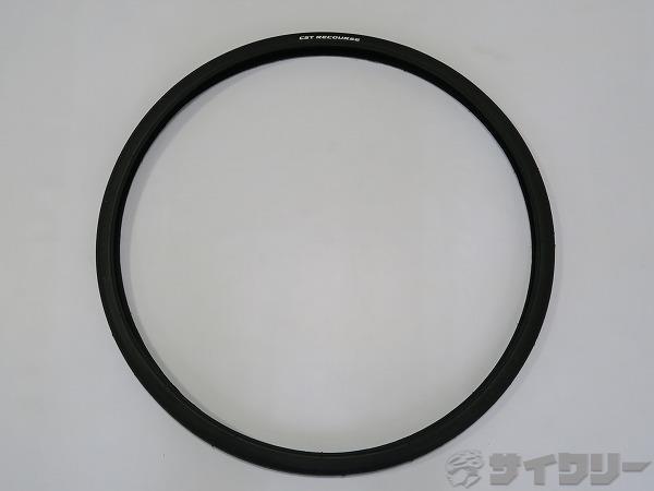 タイヤ RECOURSE ブラック 700×28C