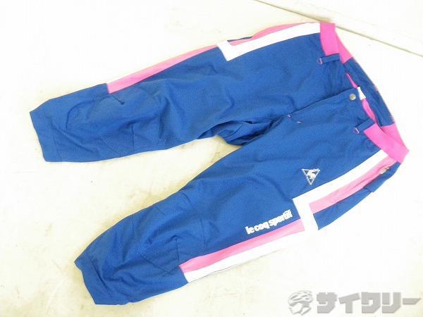 サイクリング3/4パンツ QC-351113 Lサイズ ブルー/ピンク