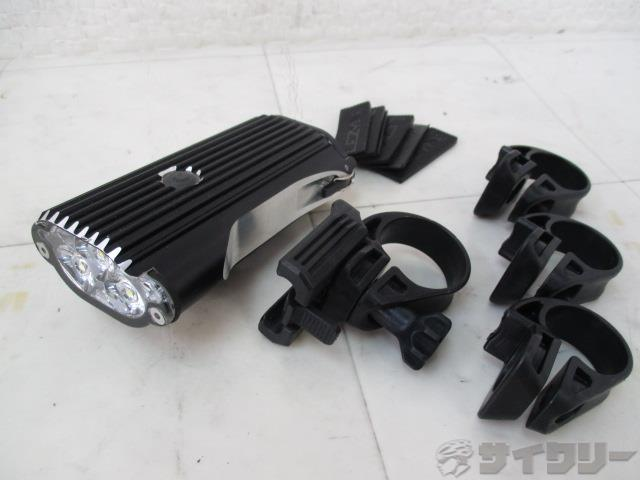 フロントライト MEGA DRIVE ブラック ※USBケーブル欠品