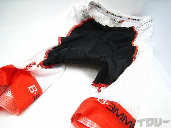 ショーツ ホワイト/ブラック Sサイズ