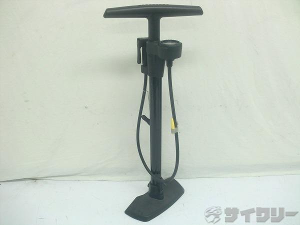 フロアポンプ recharger 仏/米式 ブラック