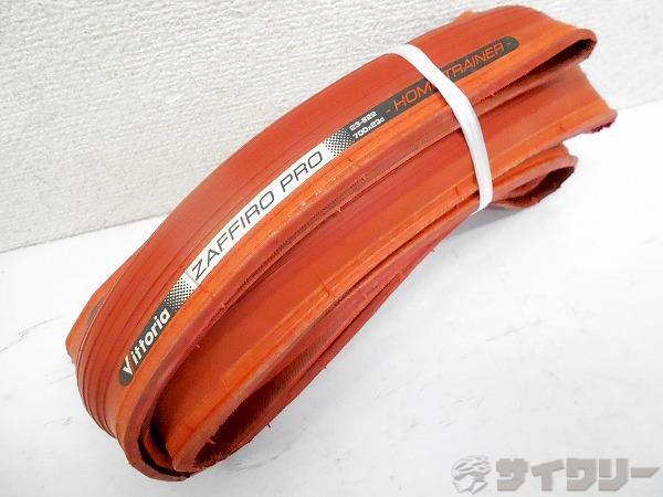 ローラー台用タイヤ ZAFFIRO PRO HOME TRAINER 700x23c レッド