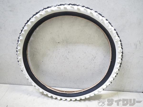クリンチャータイヤ 20x2.0 ブラック/ホワイト