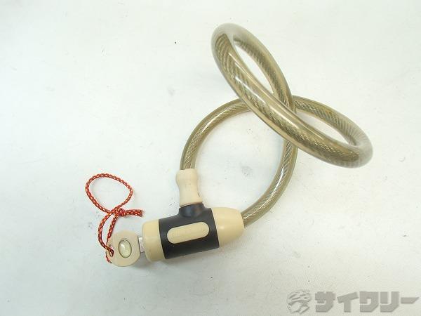 ワイヤーロック 鍵1本付属