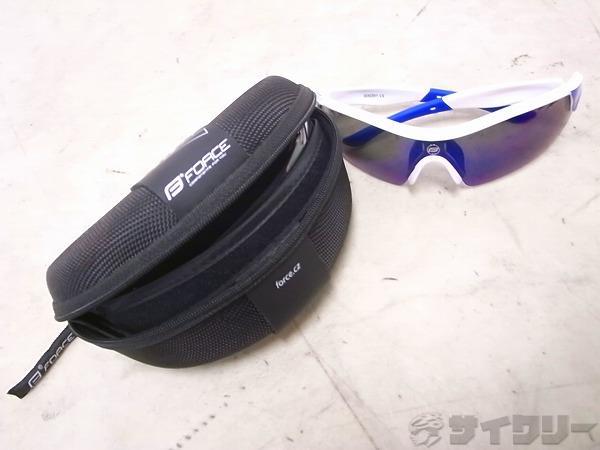 アイウェア RACE PRO ホワイト/ブルー