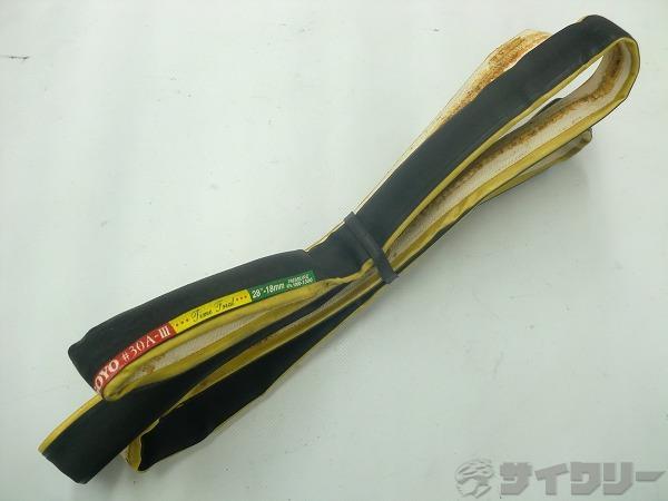 チューブラータイヤ 30A-Ⅲ TIME TRIAL 28x18mm