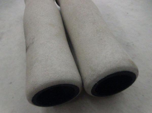汚れ/欠品  ロックオングリップ ホワイト 130mm