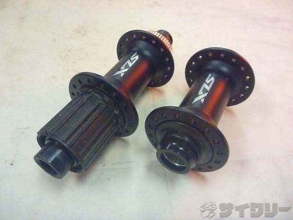 ハブセット HB-M/FH-M7010-B OLD110/148mm 12mmスルー SLX