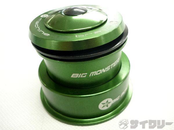 ヘッドセット BIG MONSTER セミインテグラル 1-1/8 1.5 グリーン